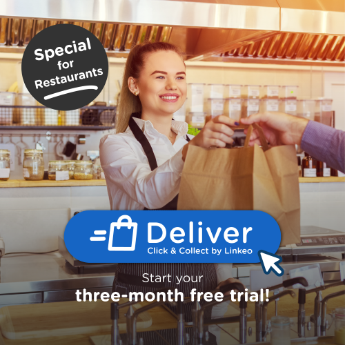 CLick & Collect, Deliver by Linkeo