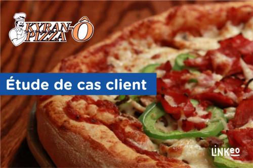 kyran-o-pizza, création de site, SEO, agence web Linkeo
